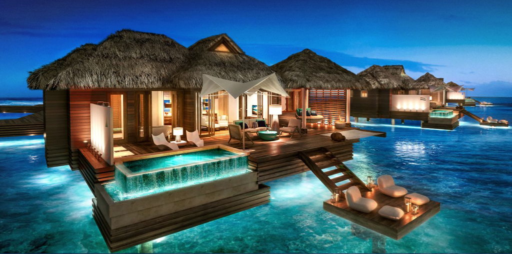 Sandals Floating Villas